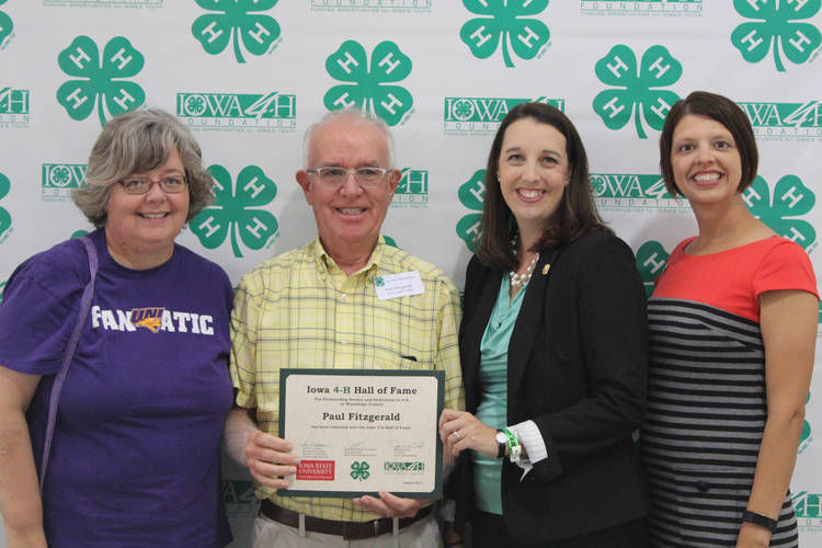 Paul Fitzgerald, 4-H Hall of Fame