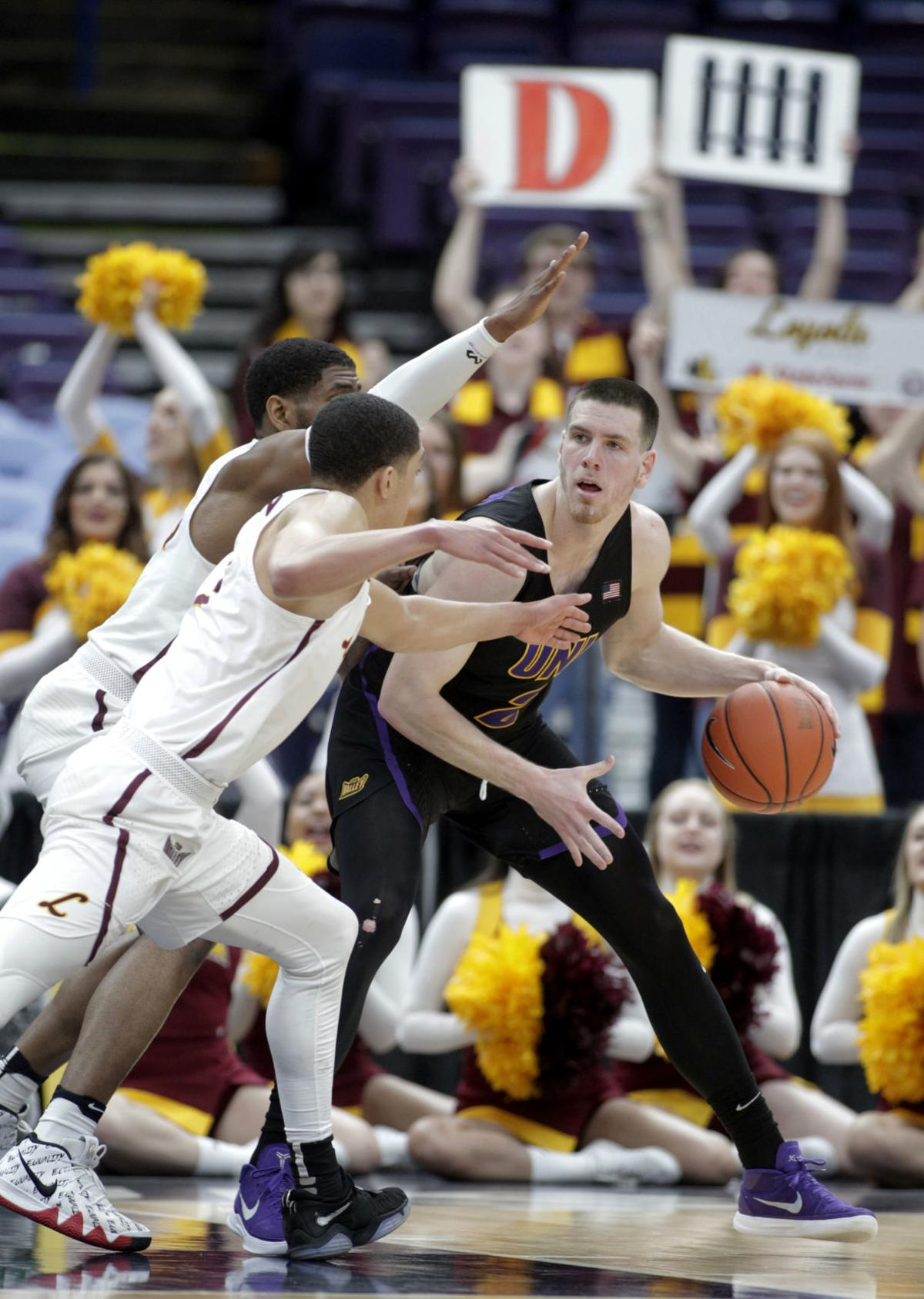 MVC Loyola Northern Iowa Basketball