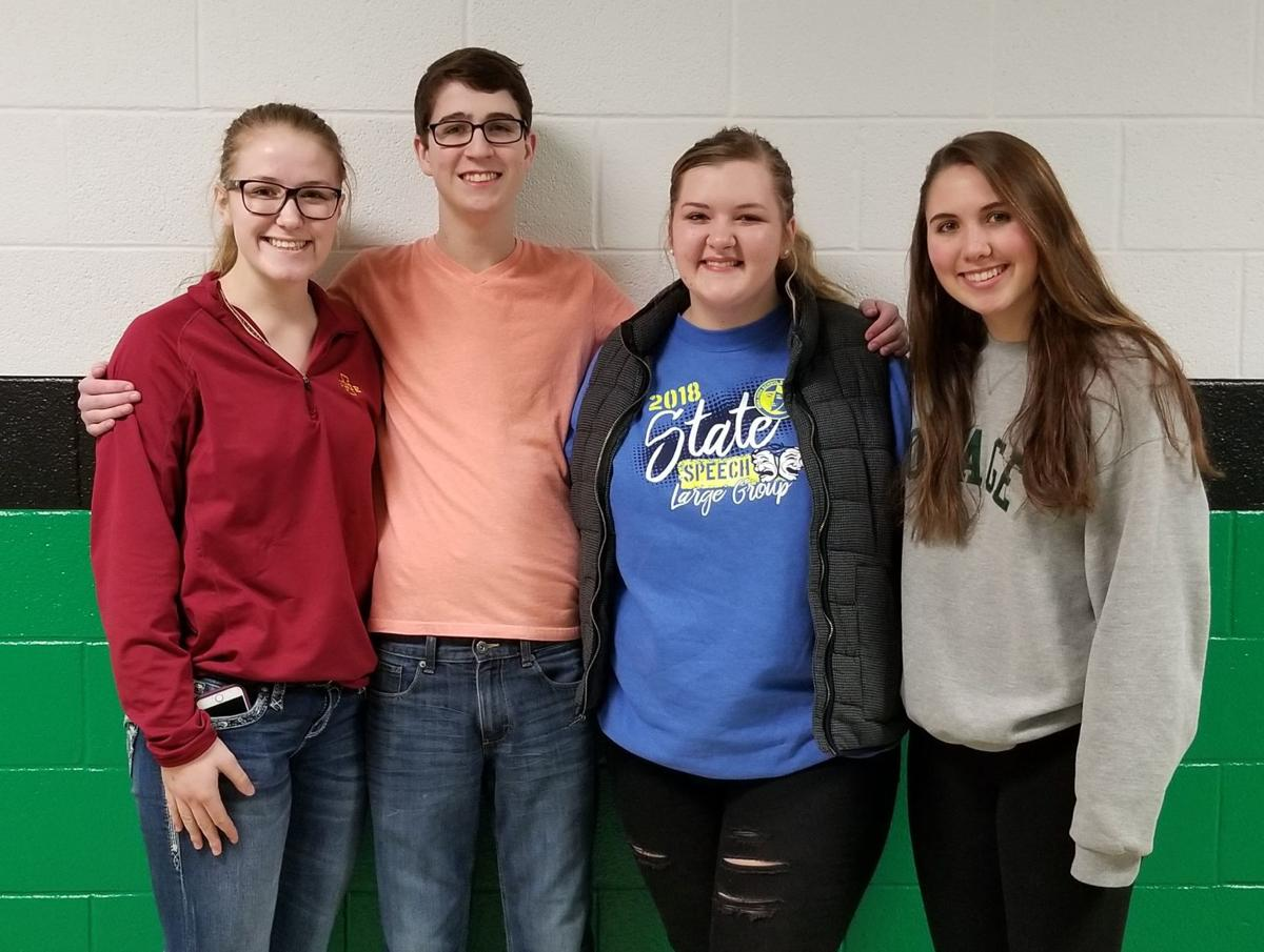 Osage High School All-State performers