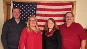 Cerro Gordo County GOP Central Committee leaders