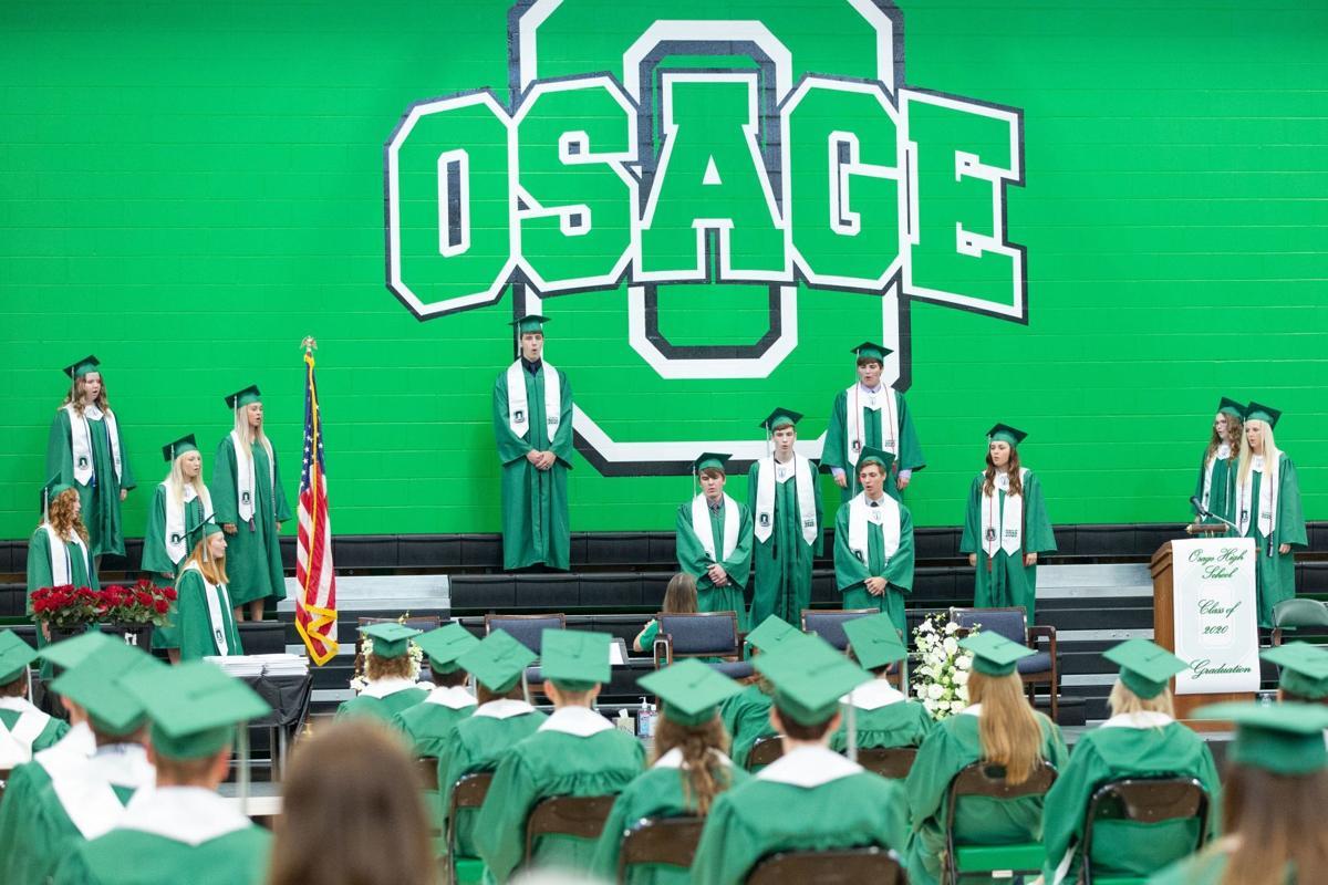 Osage senior choir members