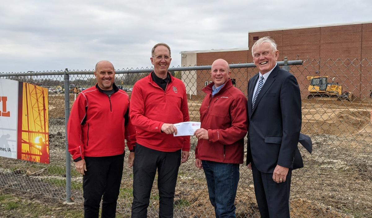 Fieldhouse grant check