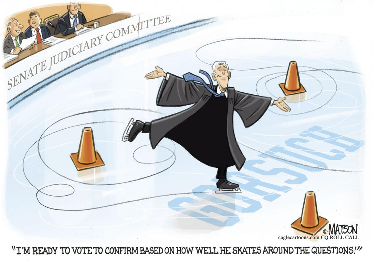Judge Gorsuch Skates Around Questions by RJ Matson, Roll Call