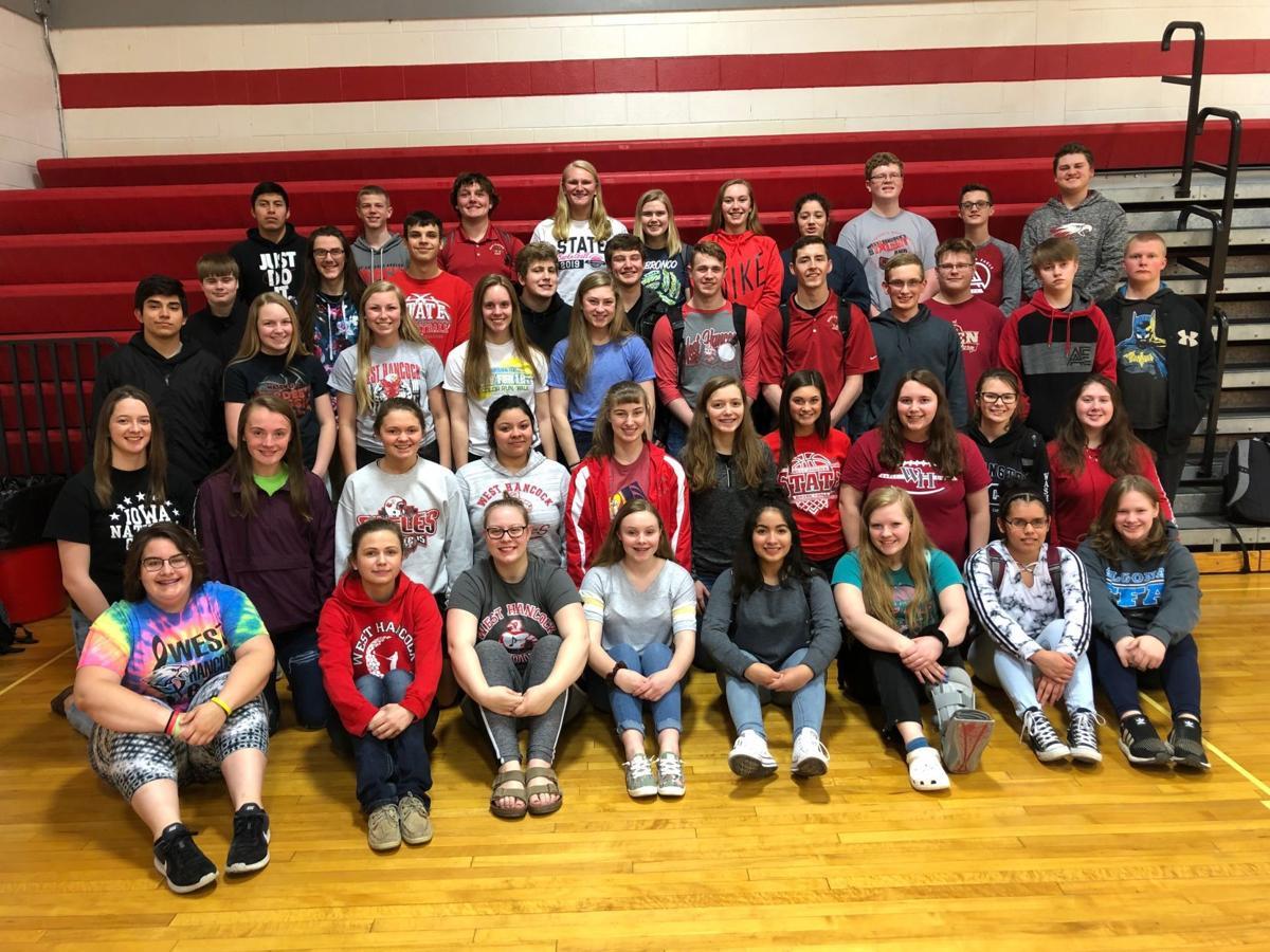 West Hancock High School Division I recipients