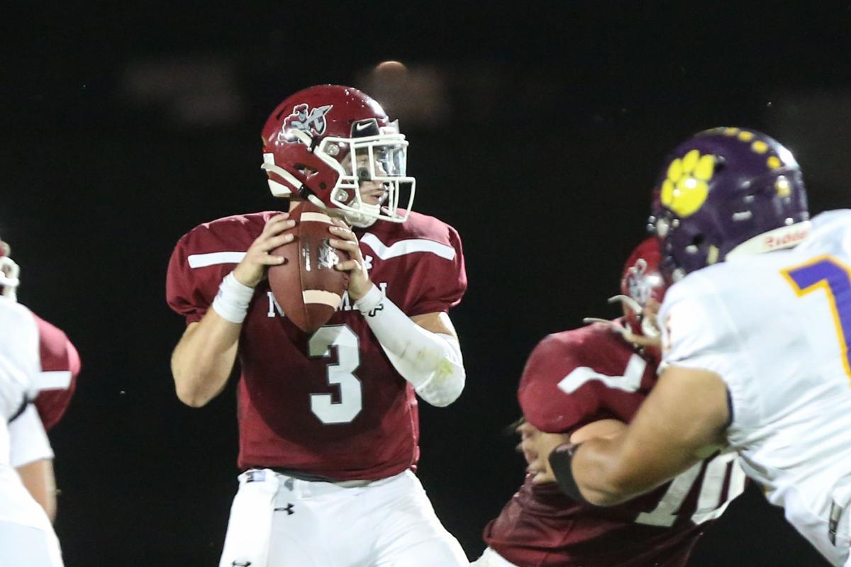 Newman Catholic football vs Lake Mills, 09-25-20
