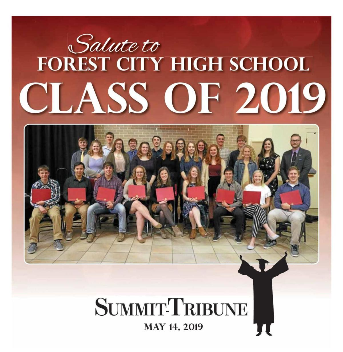 Forest City Graduation tab