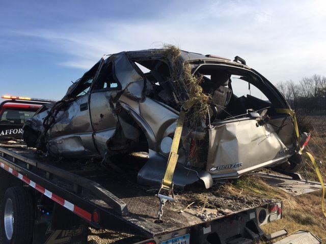 Car Accident Iowa City Highway Nov