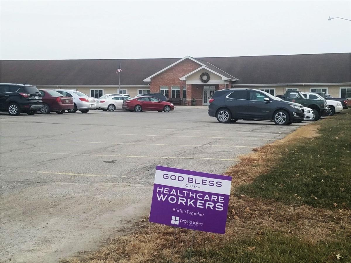 Faith Lutheran Home workers sign