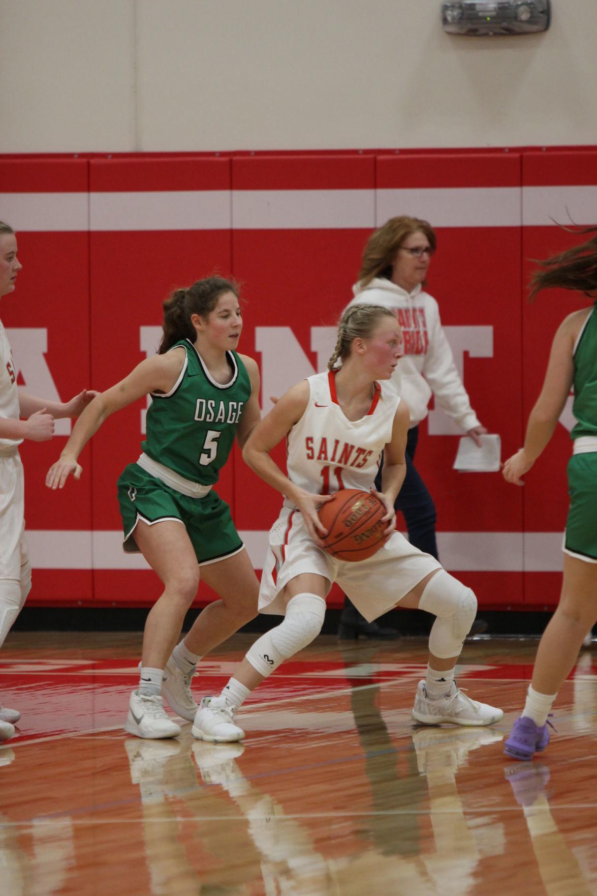 St Ansgar vs Osage girls basketball