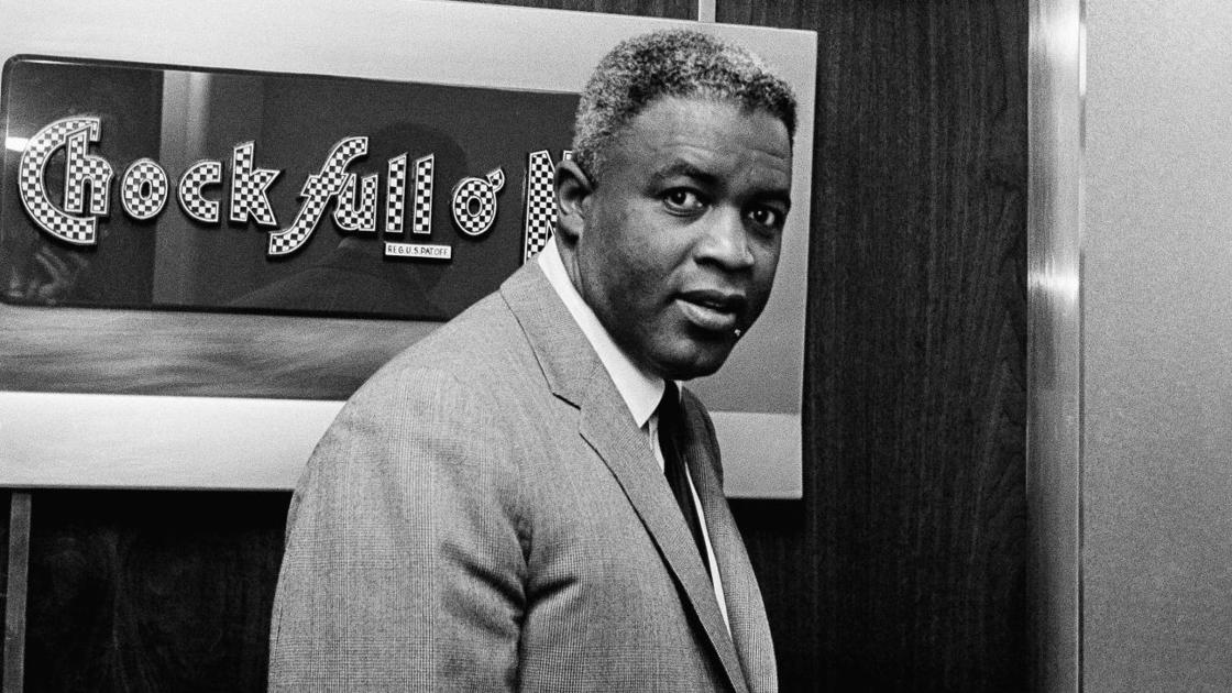 jackie robinson 1st person bio Jackie robinson's (wiki) 42 movie is hitting theatres this week and many want to learn more about the man who broke baseball's color line in just a few days, the movie 42, which focuses on the life of legendary baseball player jackie robinson and his struggles as the first black player in major.