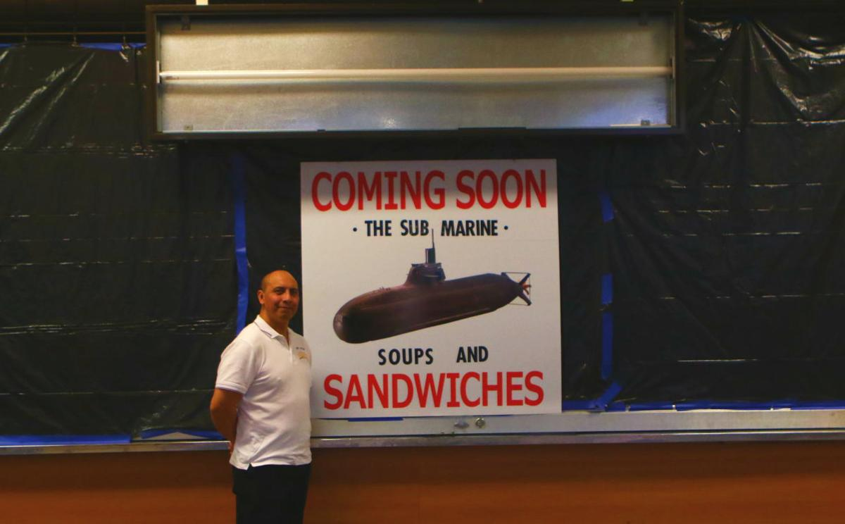 Sub Marine soups and sanwiches
