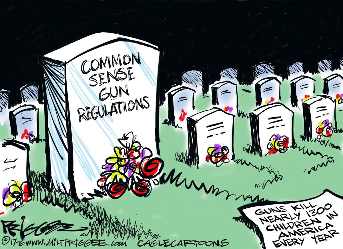 Political cartoons: Guns, Kushner, Dems, Korea, Trump