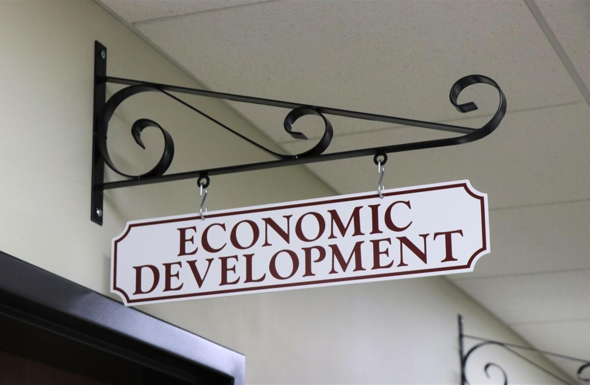 Economic Development sign