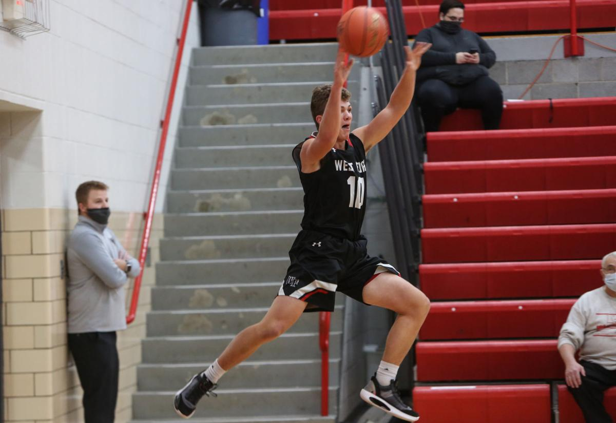 Newman Catholic boys basketball vs West Fork - Ames