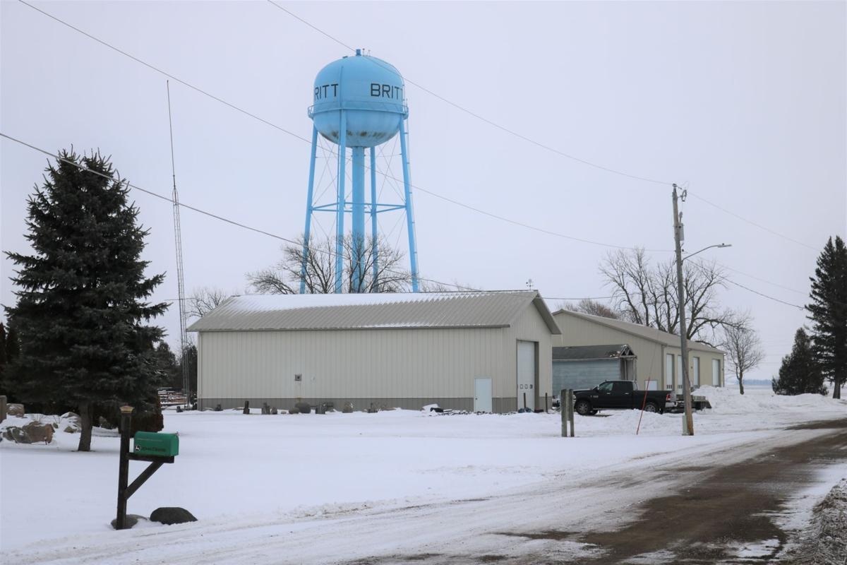 Britt's Enduring Blue Water Tower.JPG