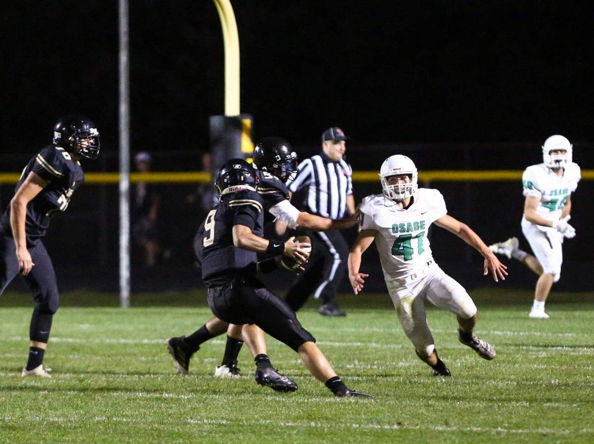 Clear Lake vs Osage football, 08-30-2019