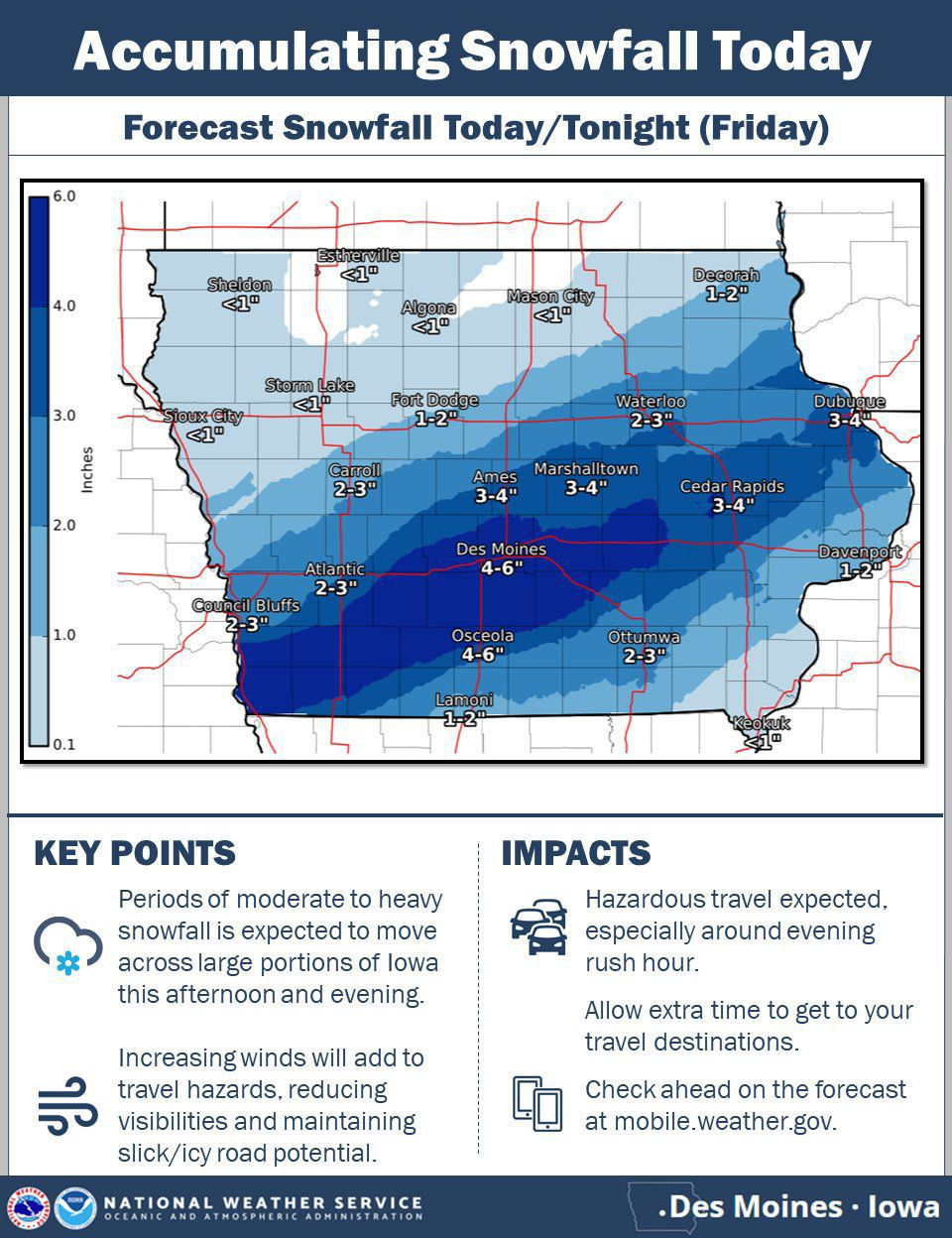 Friday weather outlook