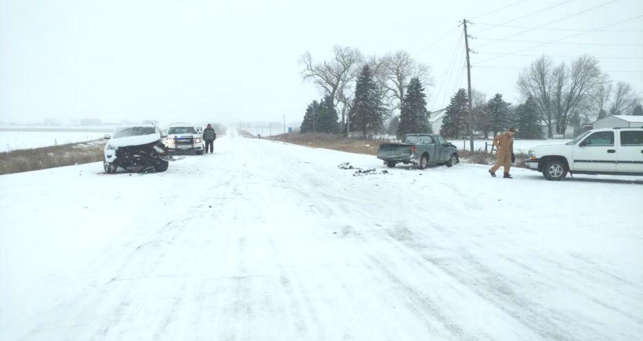 Worth County snow crash 12-29