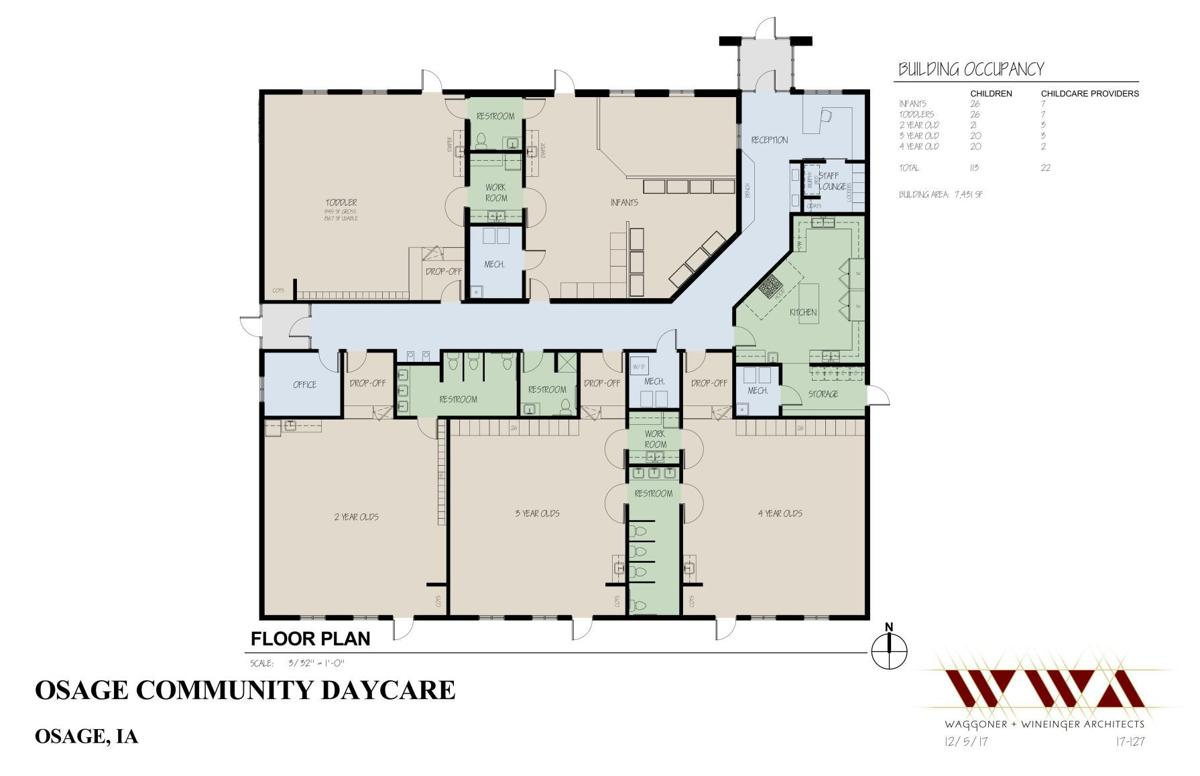 Osage day care floor plan