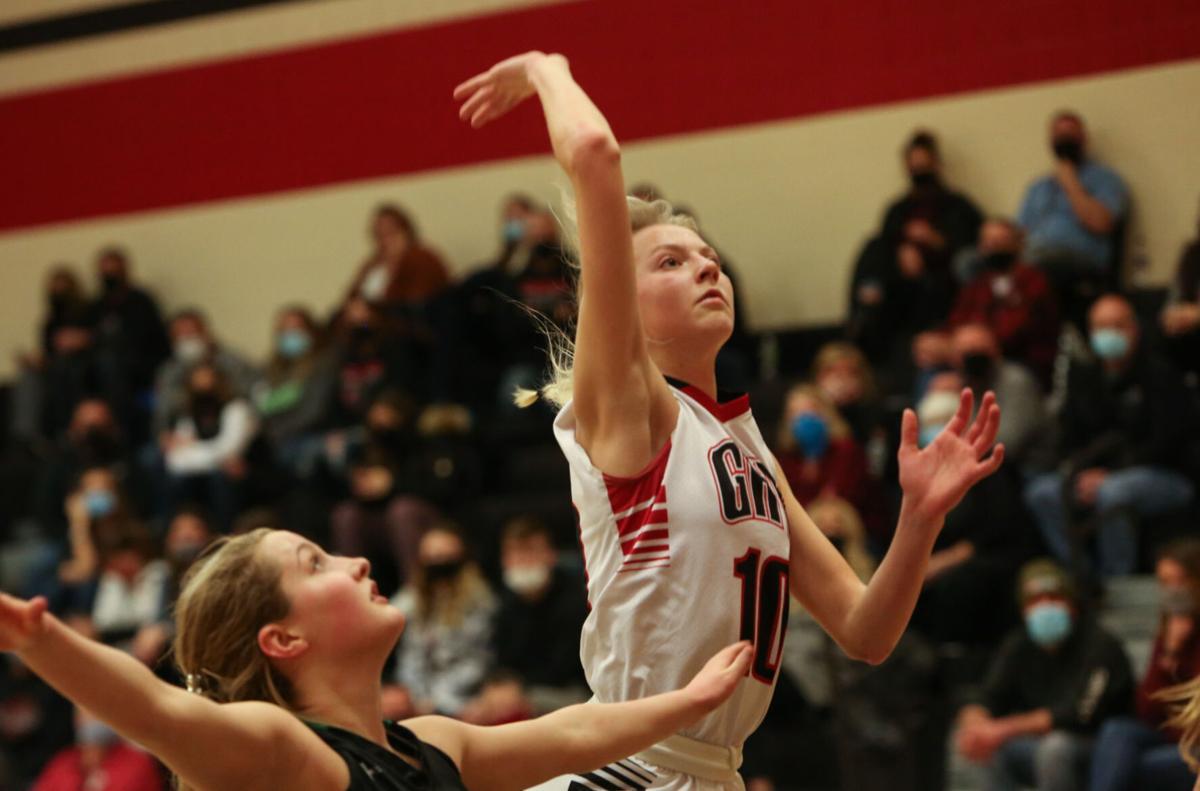 GHV girls basketball vs North Union- Chloe Frank
