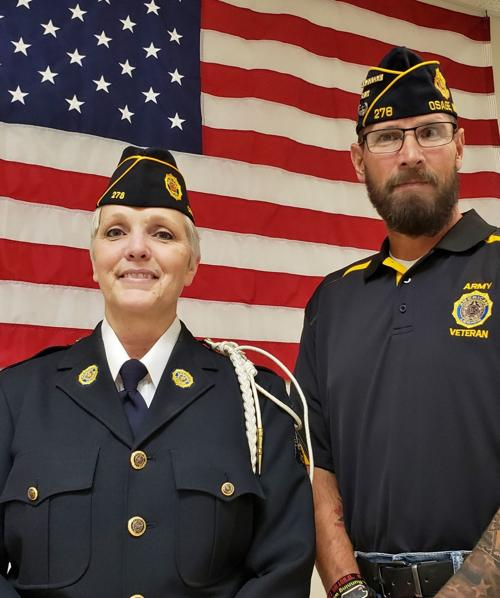 Kimmey is first female Legion officer