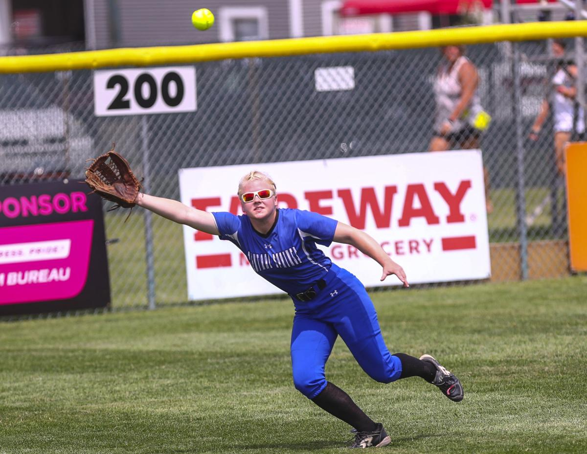 State Softball Central Springs Wednesday 6