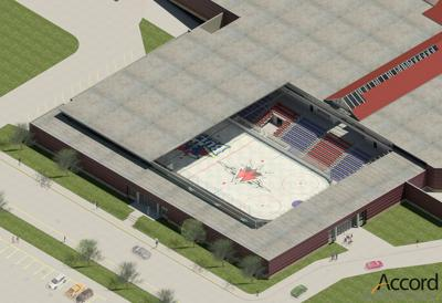 Ice arena drawing