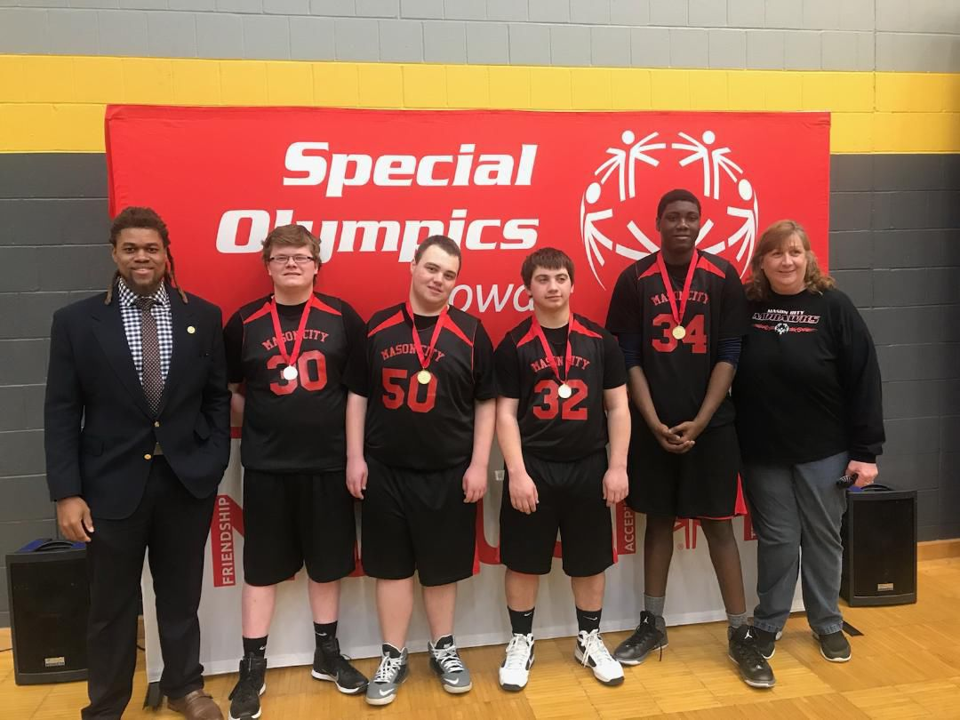 Basketball Special Olympics