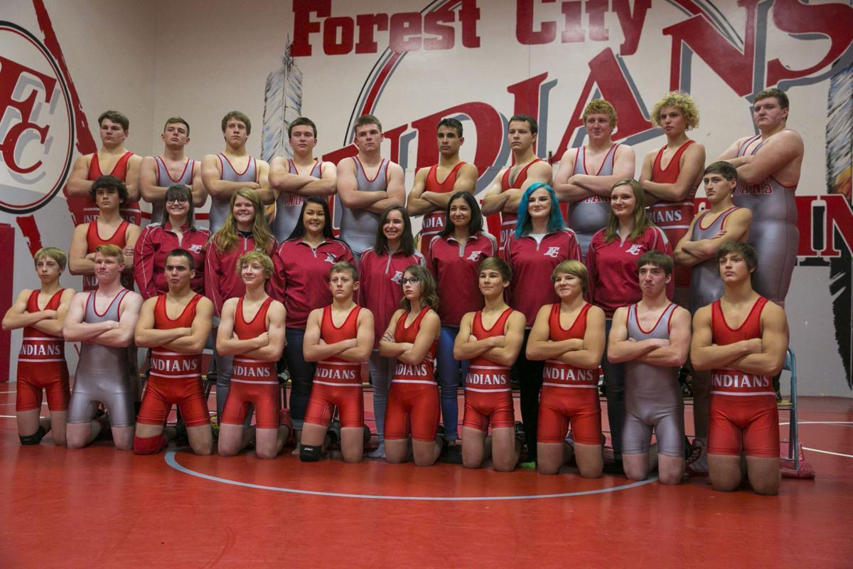 FC boys wrestling team