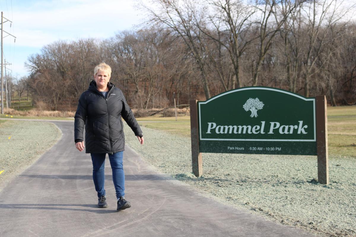 J Steet Trail at Pammel Park - April Vogt