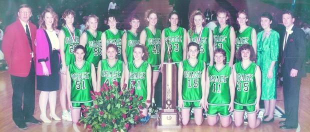 1992 Girls Basketball team - state champions
