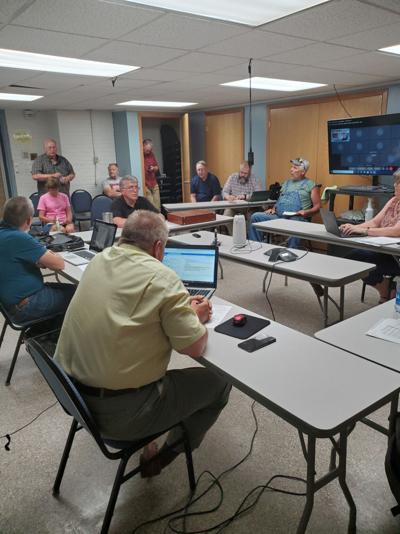 Floyd County board meeting