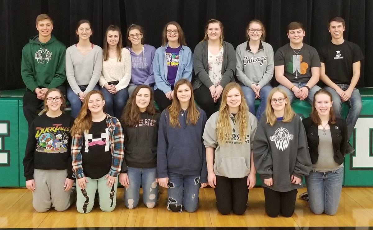 Osage High School State Speech Team