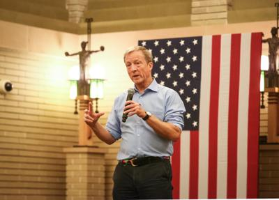 Tom Steyer in Mason City 2