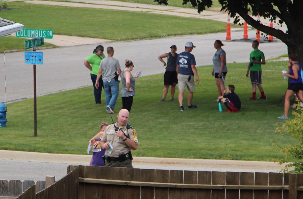 Volunteers search for Michael Jensen