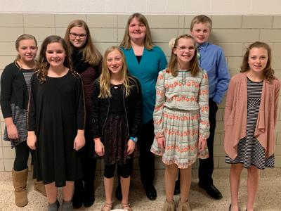 Karl King Honor Band students from West Hancock