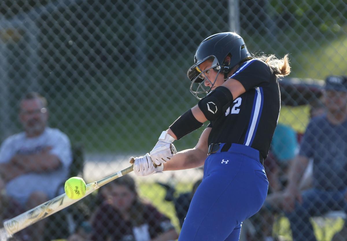 Central Springs softball vs Newman Catholic - CS Kelley