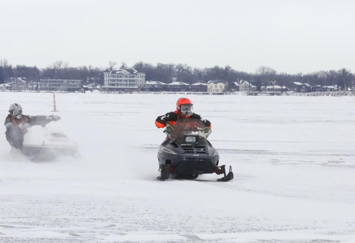 Clear Lake snowmobile races discontinued after 10 years