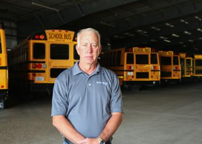 John Regan - bus barn
