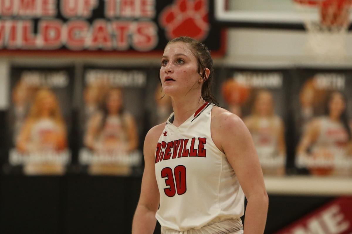 Riceville girls basketball vs Kee - Fair