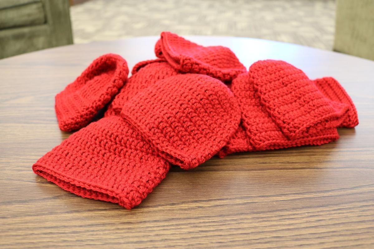 Waldorf University Knit Wits knit Little Hats  608fb5a6010