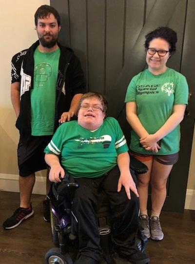 Osage Special Olympic Athletes