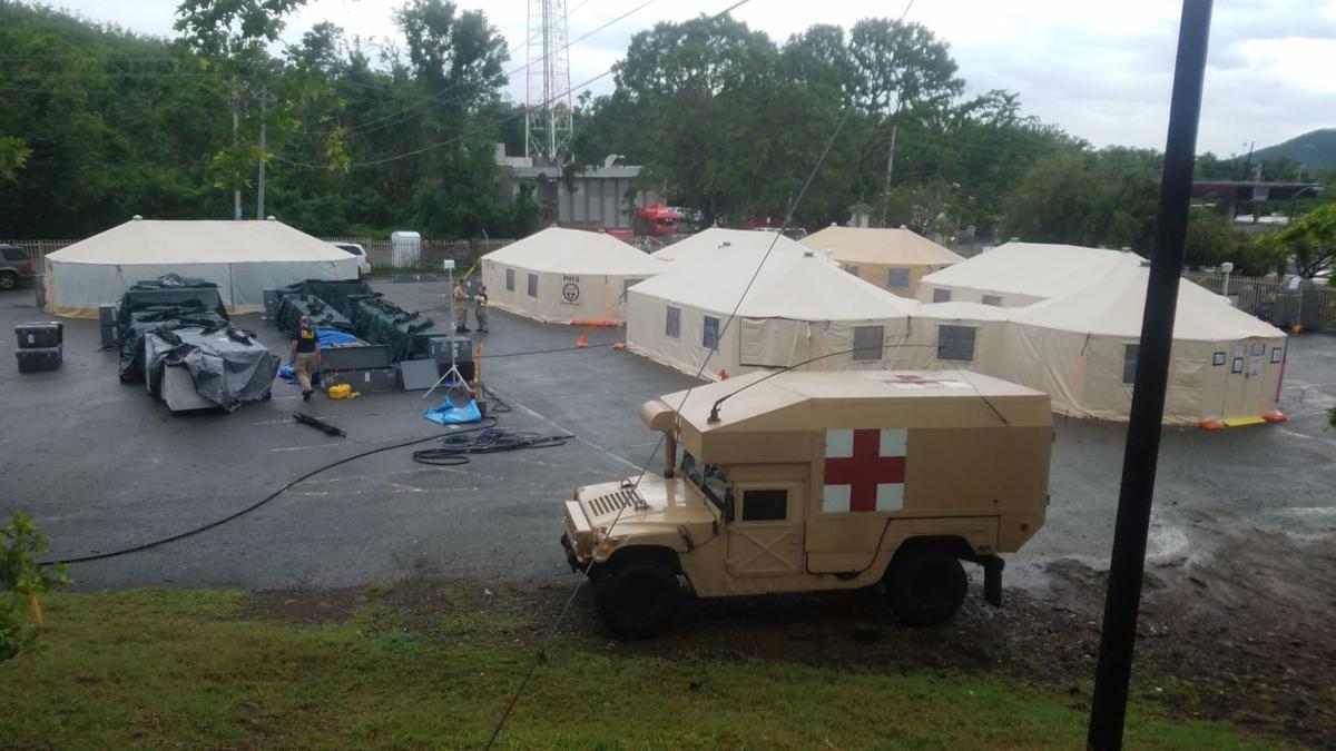 DMAT camp