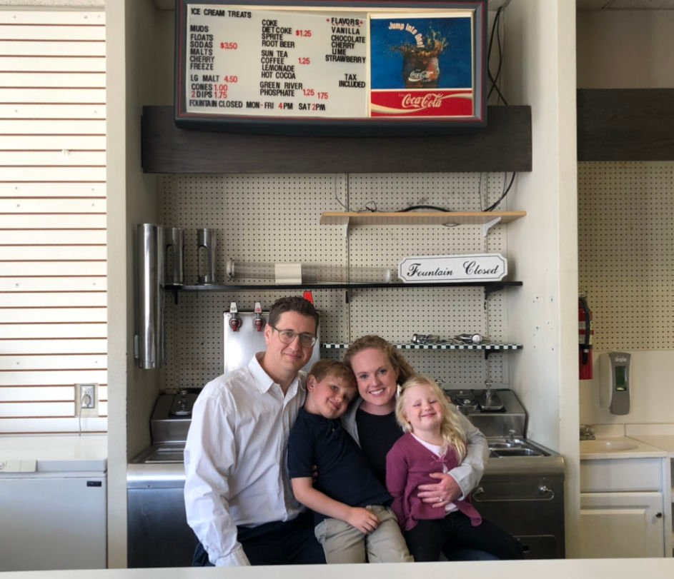 Charlie's Soda Fountain owners