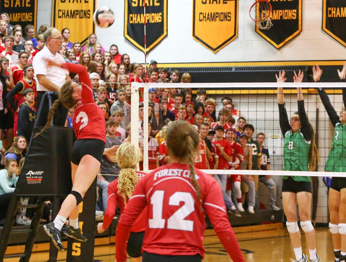 Forest City volleyball