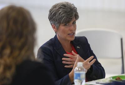 Ernst chides Trump for 'muddying water' in response to violence
