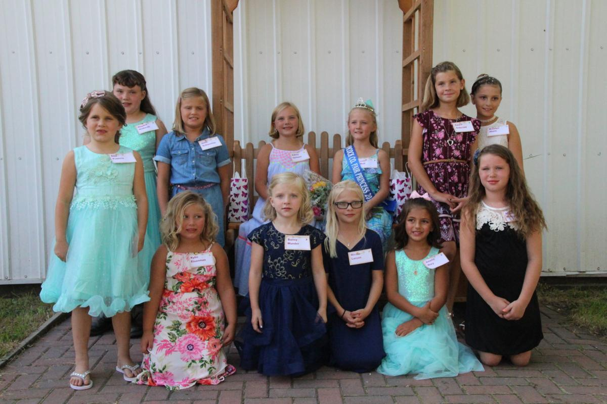 2019 Hancock County District Fair Princess contestants