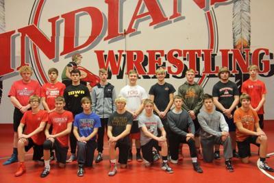 FCHS Wrestling Team group photo