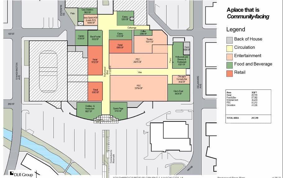 Mason City family entertainment center overview
