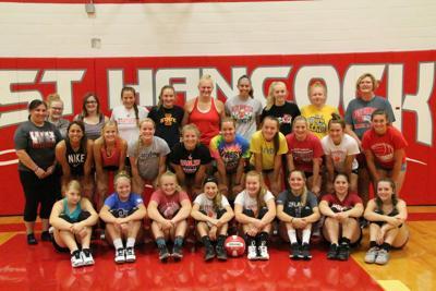 The 2019 West Hancock High School Volleyball team